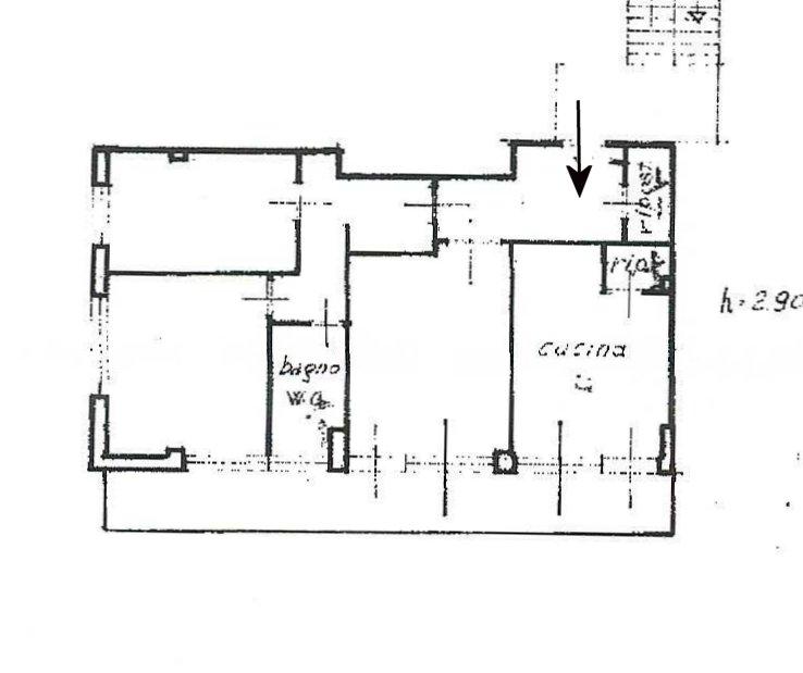 Planimetria 1/1 per rif. 834