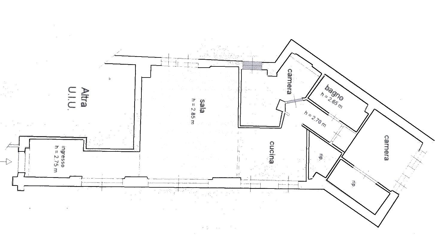 Planimetria 1/1 per rif. 863