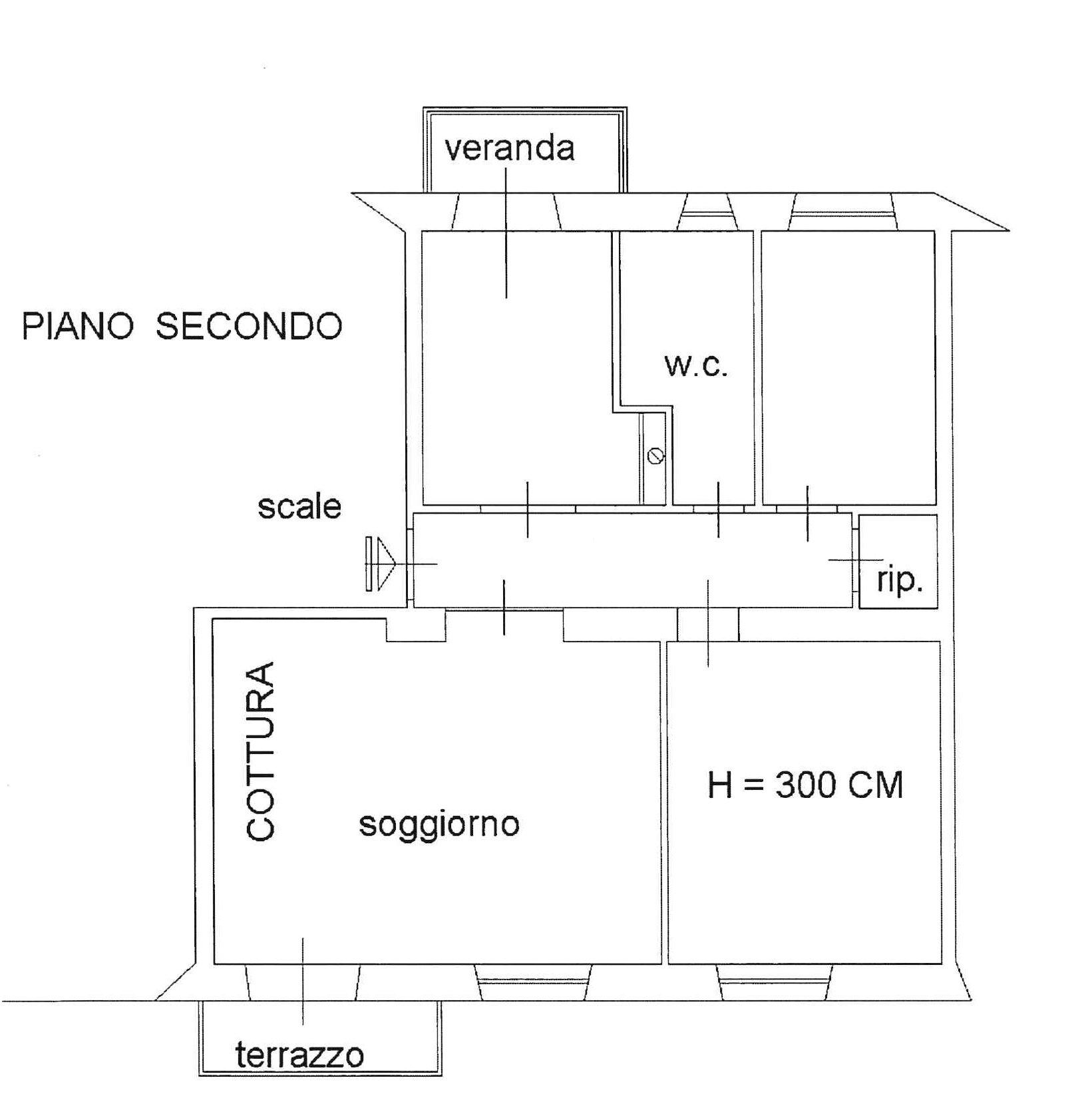 Planimetria 1/1 per rif. 586