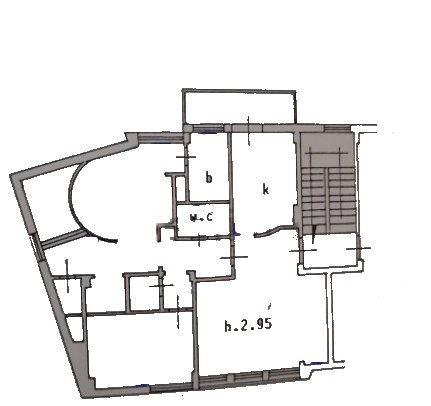 Planimetria 1/1 per rif. 755