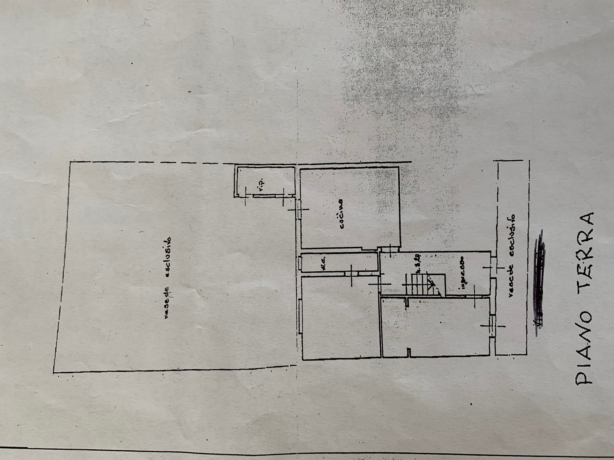 Planimetria 1/3 per rif. TT256