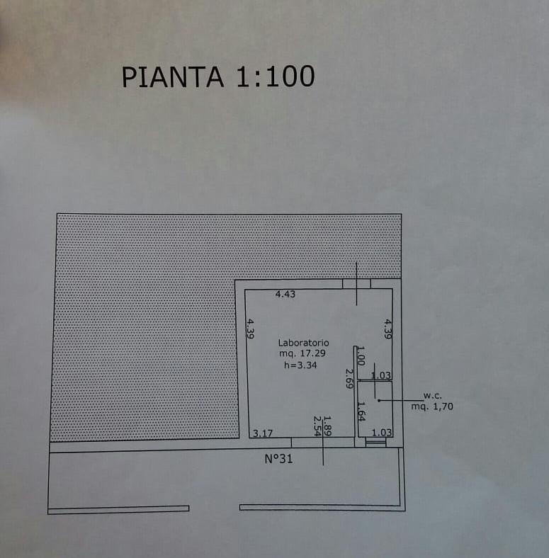 Planimetria 3/3 per rif. TT256