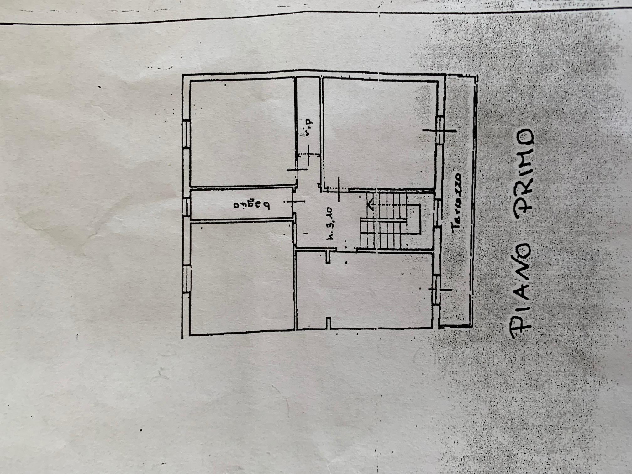Planimetria 2/3 per rif. TT256
