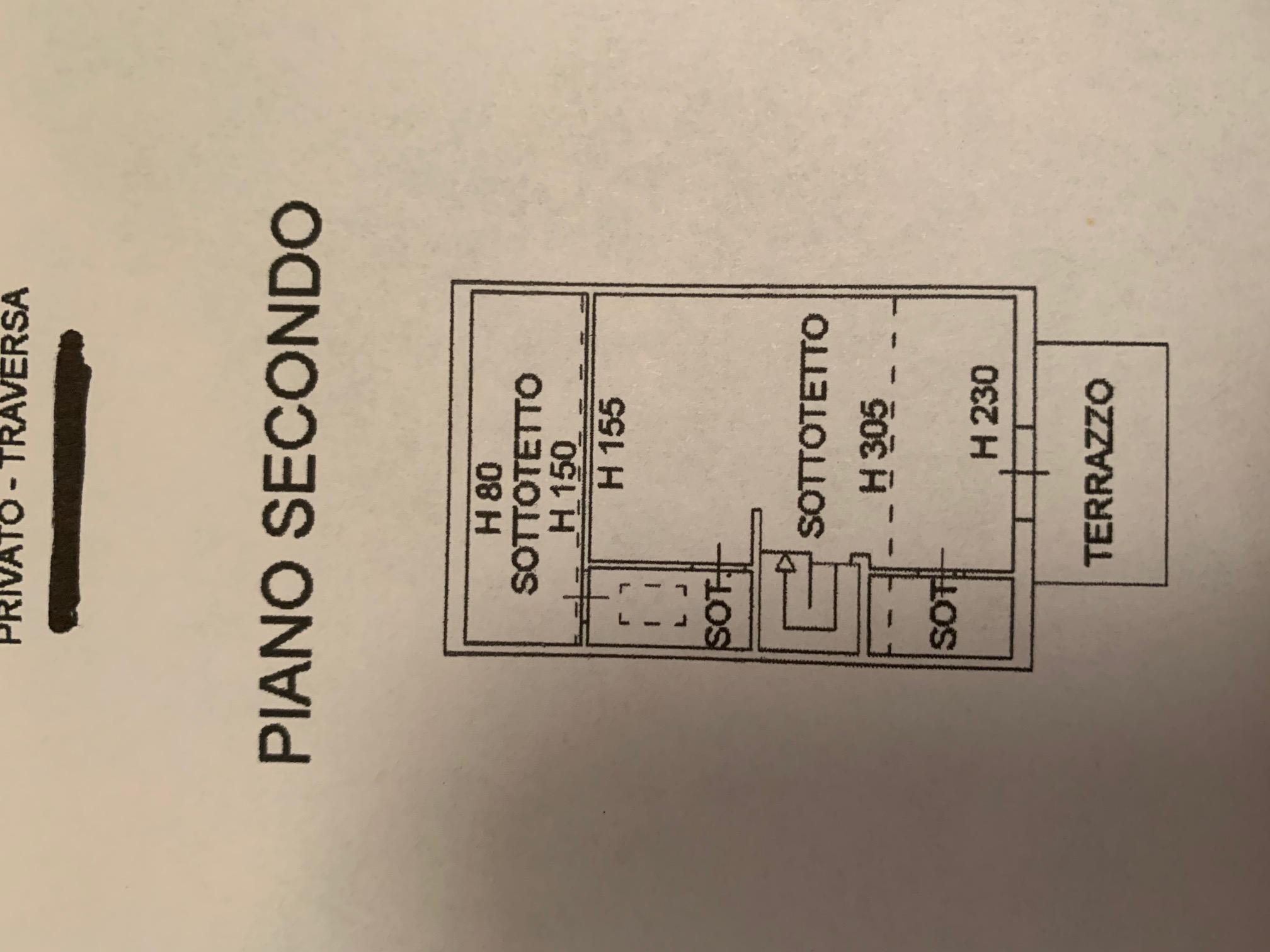 Planimetria 2/4 per rif. TT267