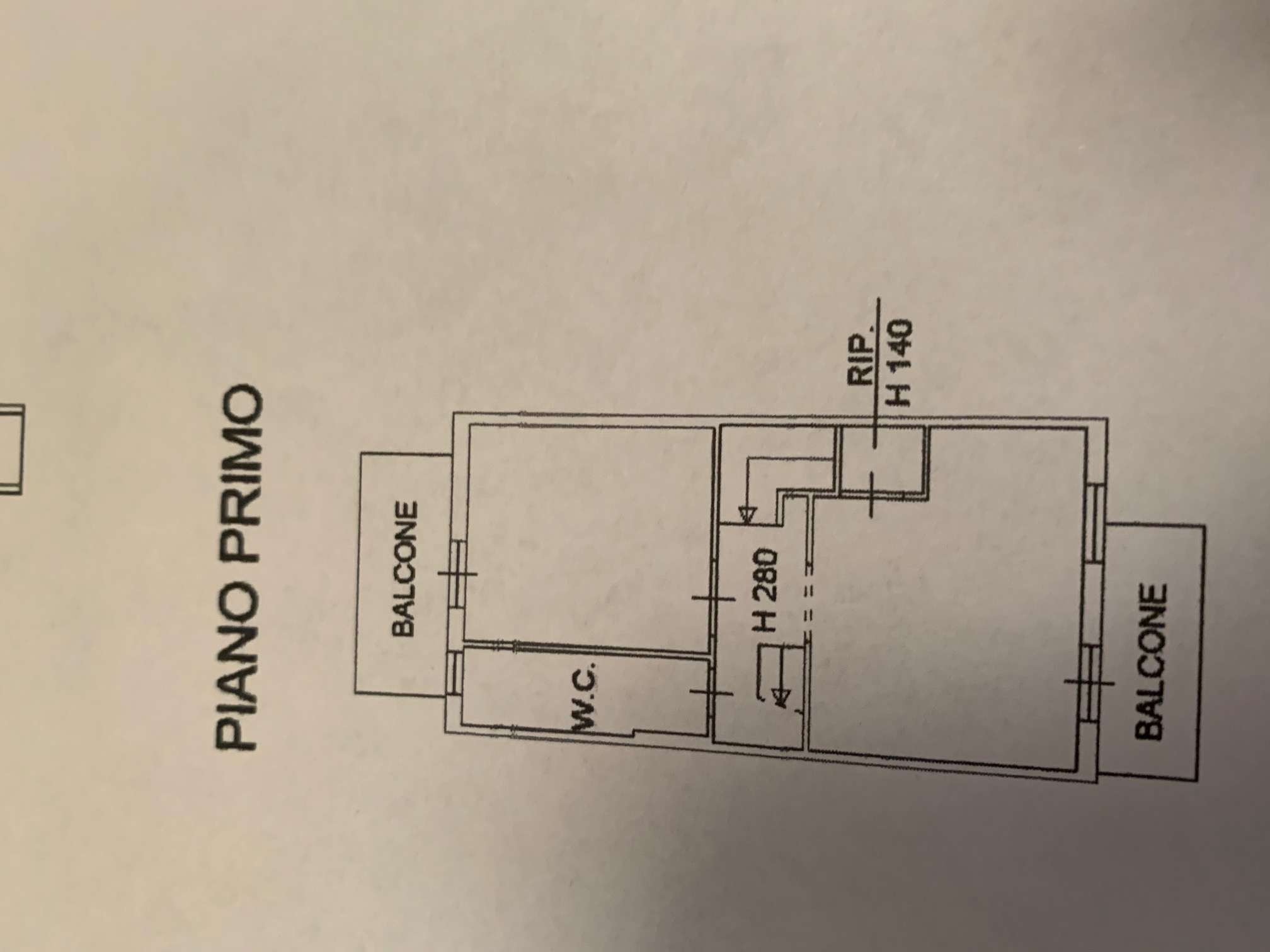 Planimetria 4/4 per rif. TT267