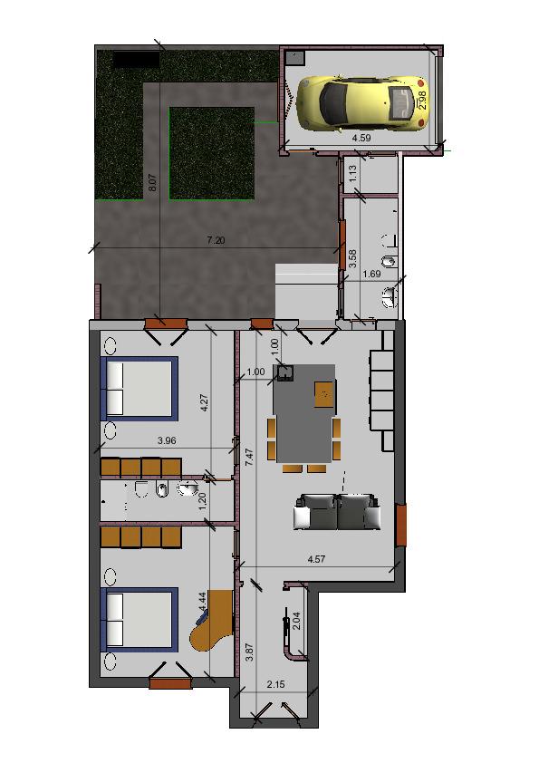 Appartamento in vendita, rif. AE294 (Planimetria 2/2)