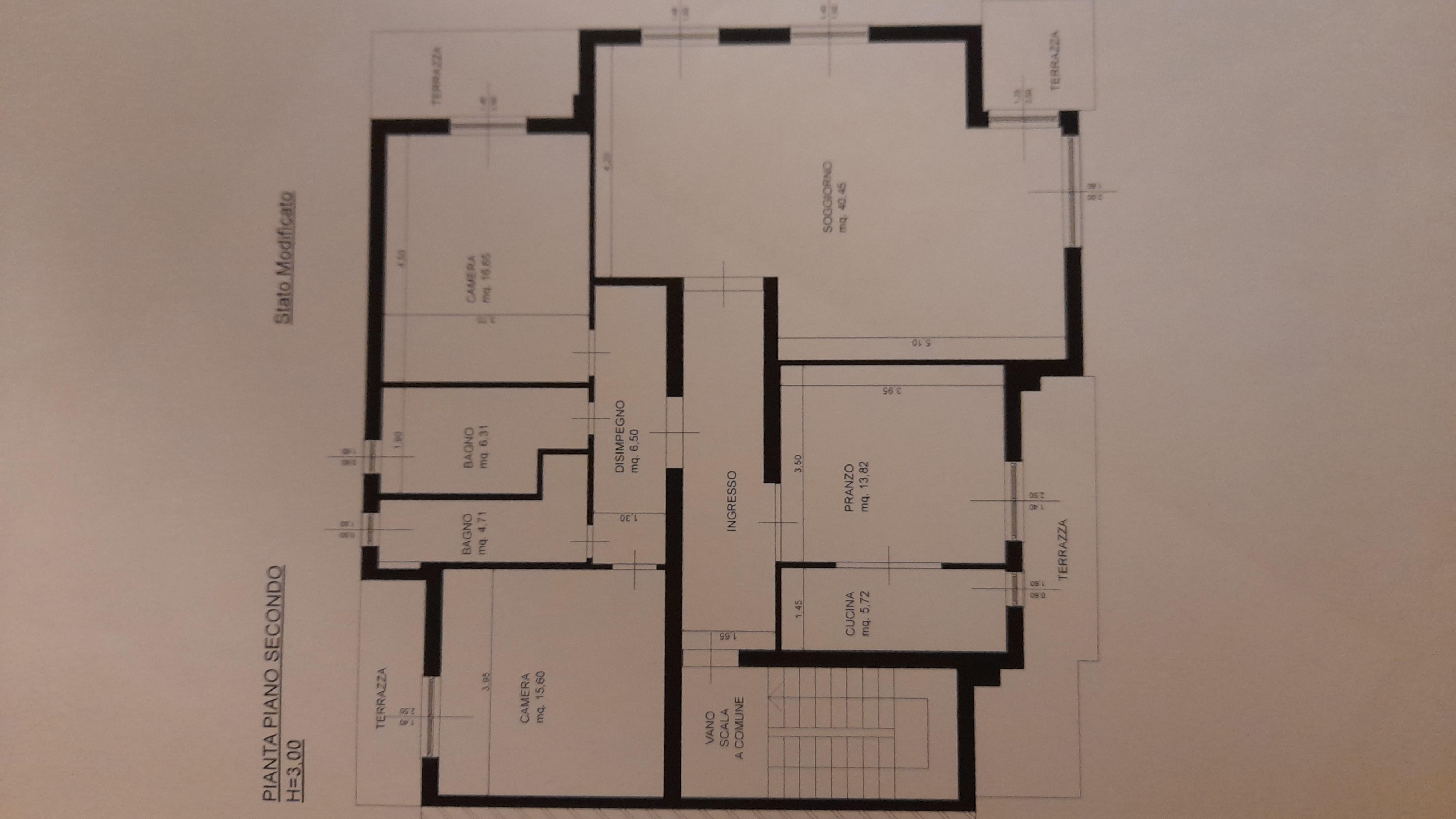 Planimetria 1/2 per rif. AE314