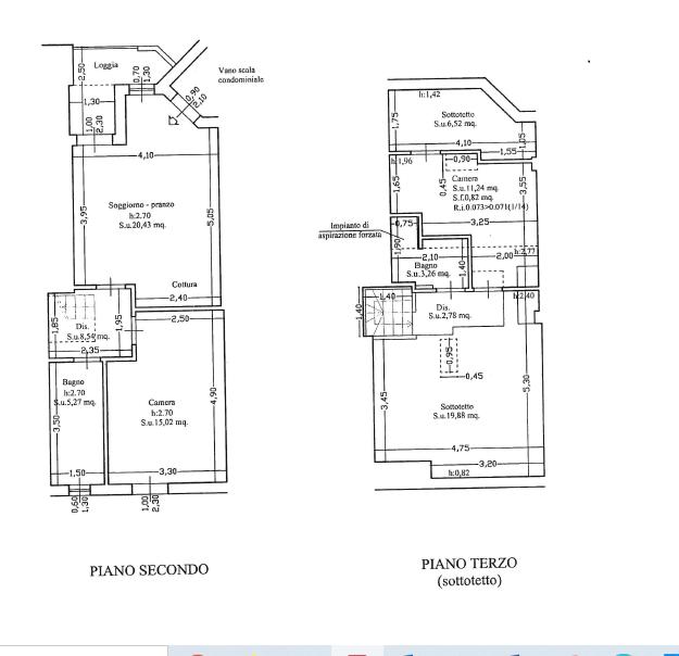 Planimetria 1/1 per rif. AE324