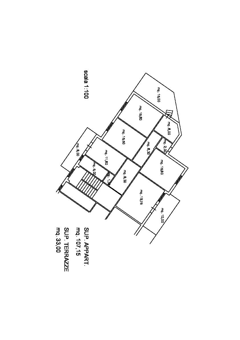 Planimetria 1/1 per rif. AE332
