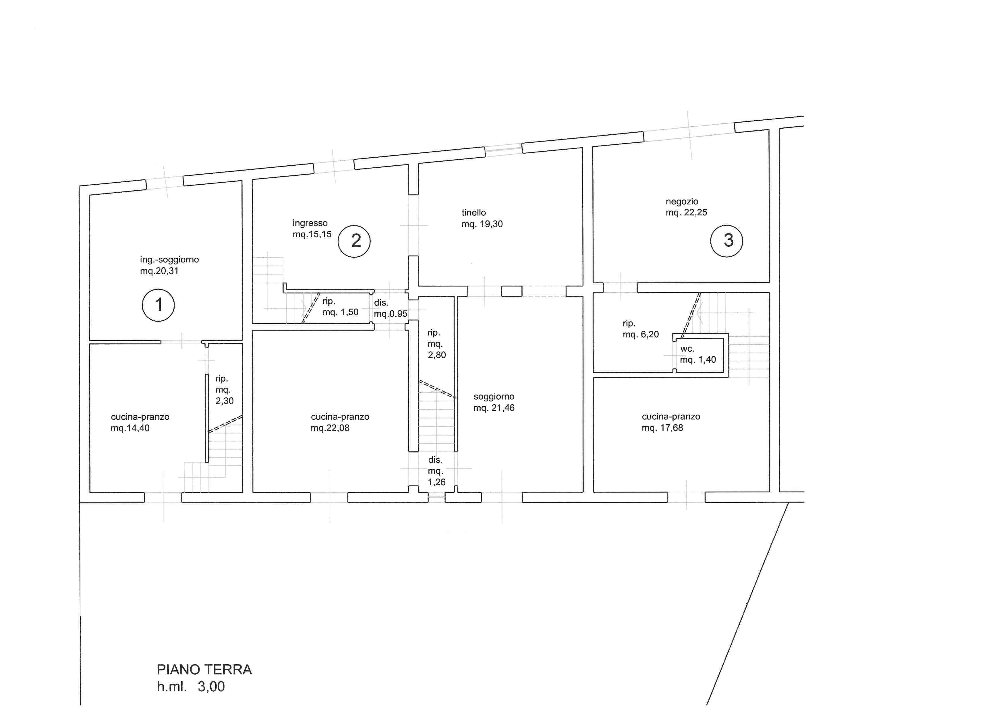 Planimetria 4/4 per rif. 3124