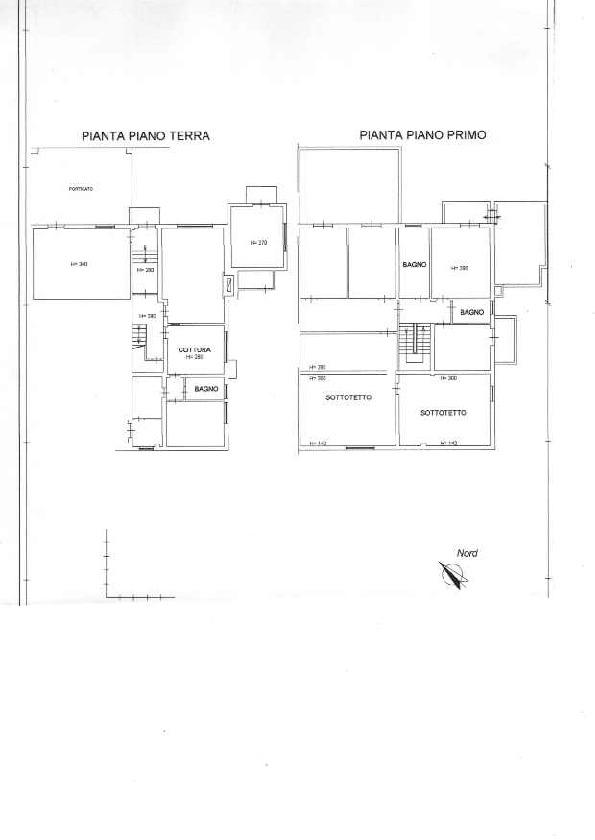 Planimetria 1/2 per rif. AR1538