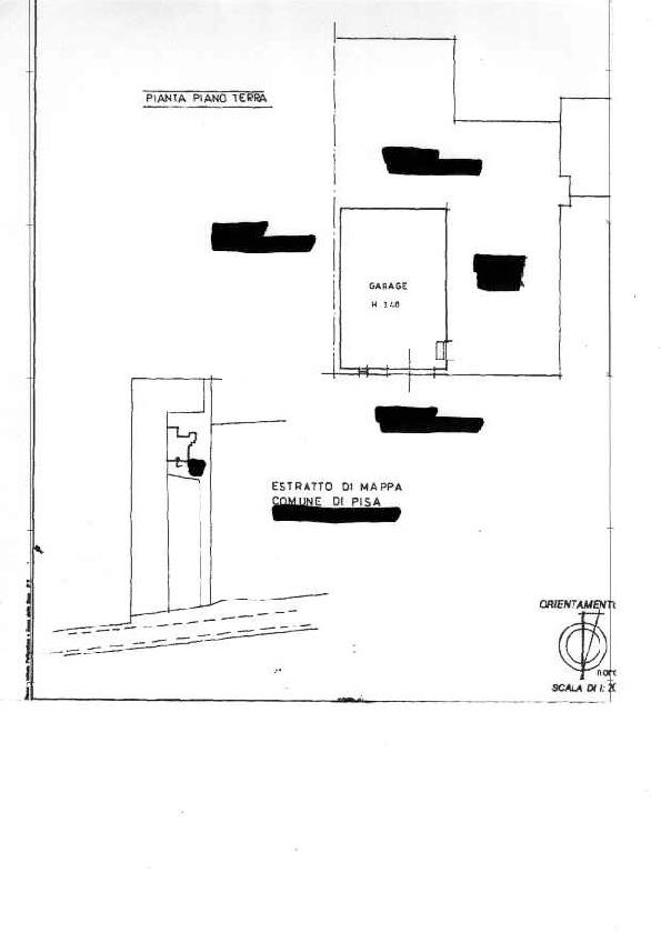 Planimetria 2/2 per rif. AR1538