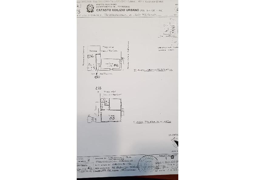 Planimetria 1/1 per rif. A73