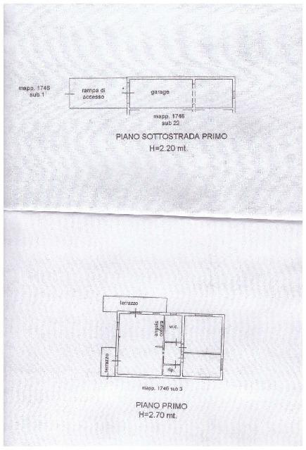 Planimetria 1/1 per rif. A93