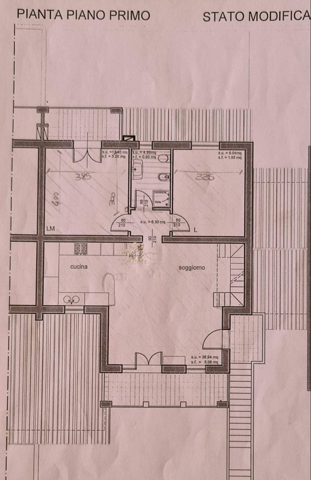 Planimetria 1/1 per rif. A11