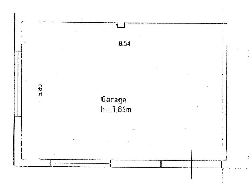 Planimetria 1/3 per rif. A104