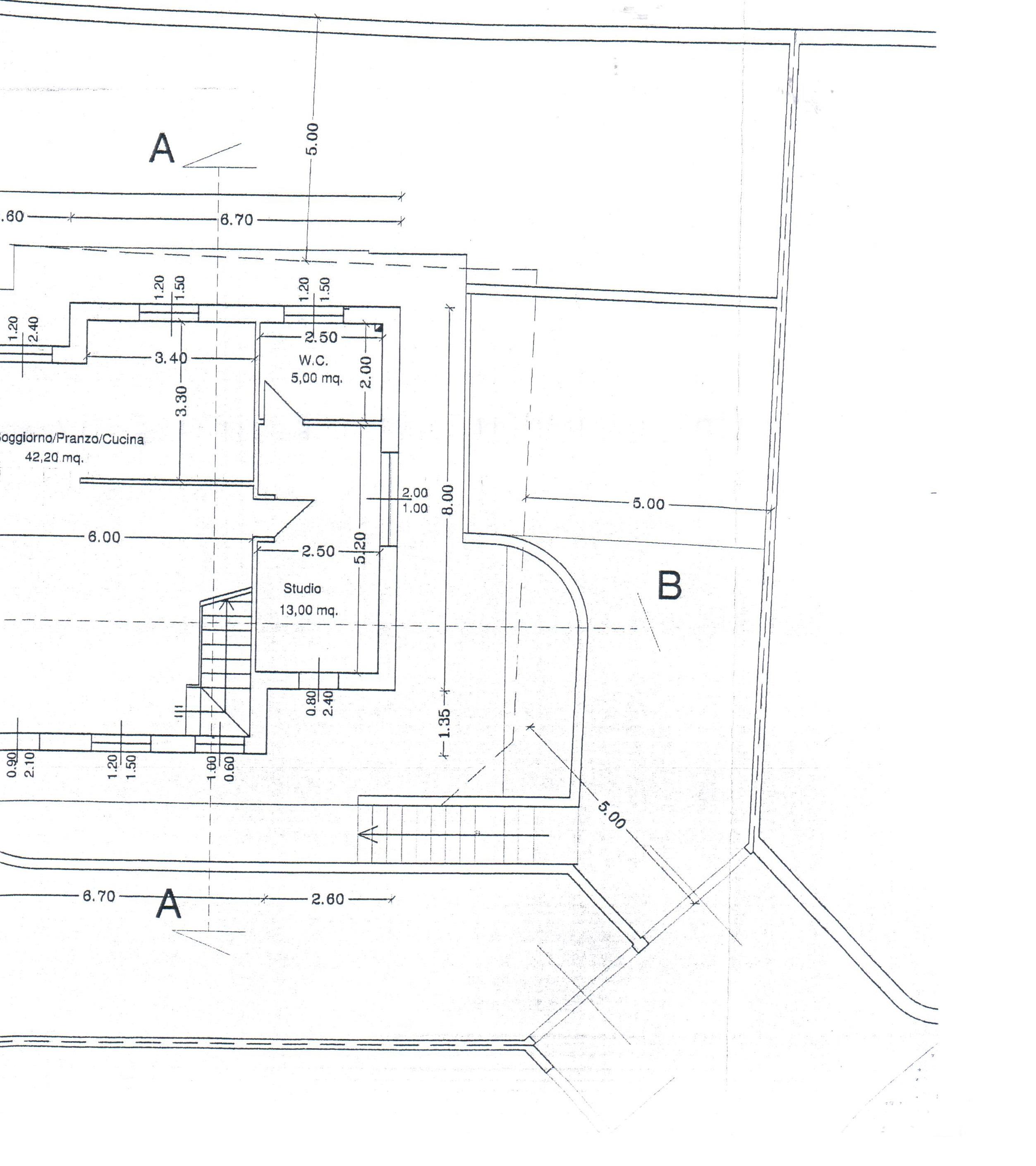 Planimetria 2/3 per rif. A30