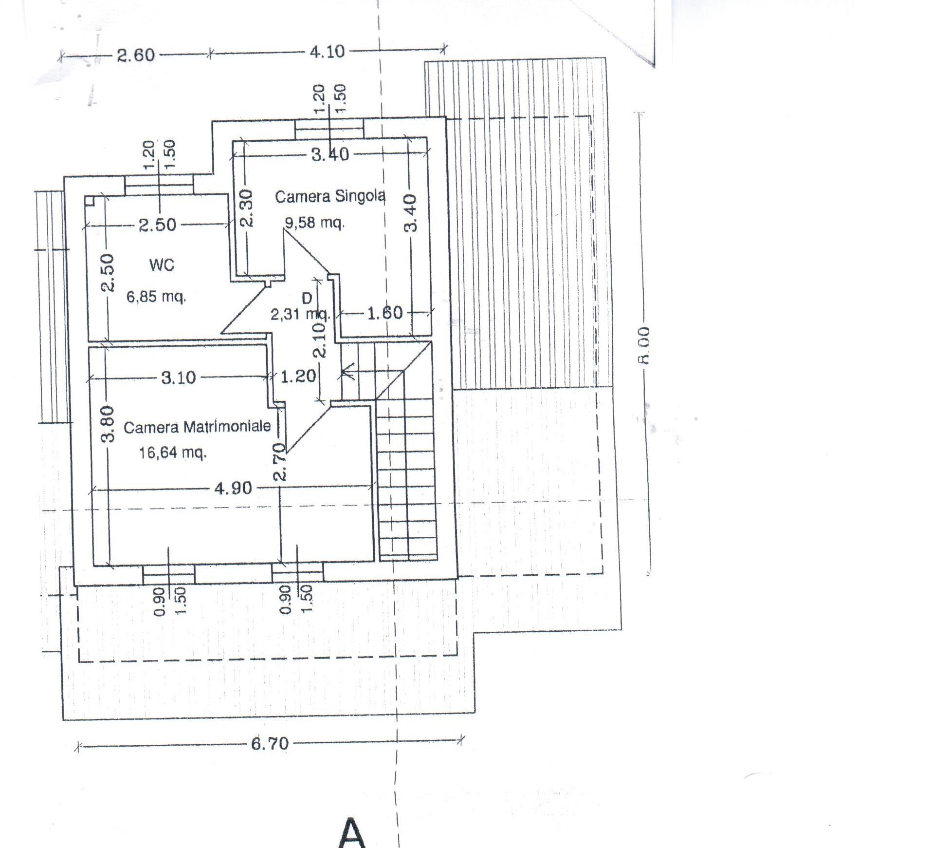 Planimetria 3/3 per rif. A30