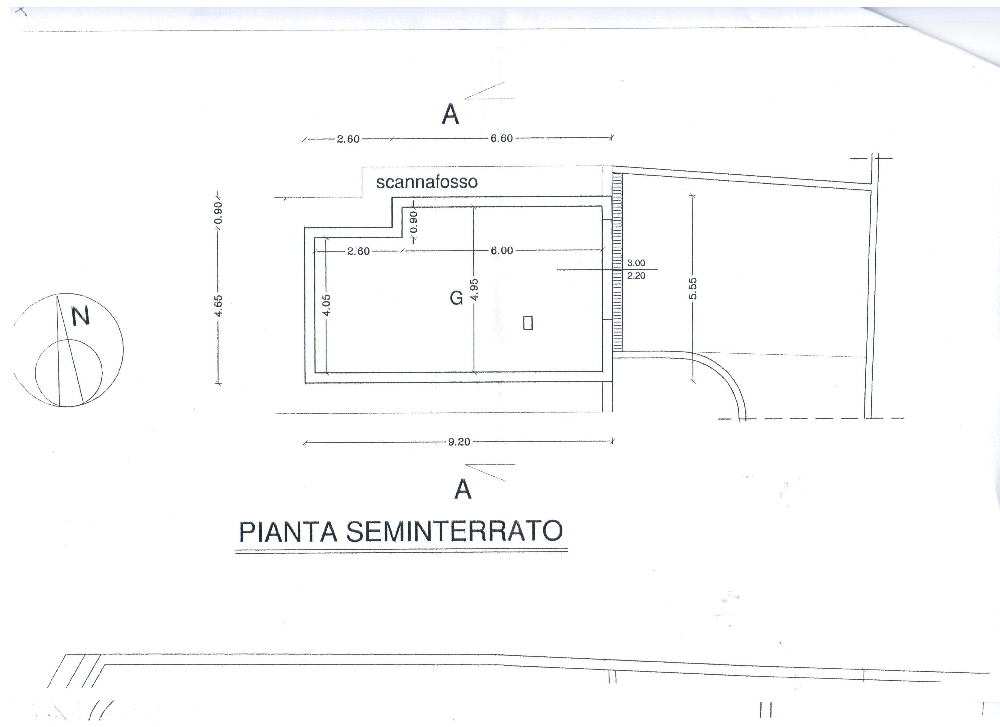 Planimetria 1/3 per rif. A30