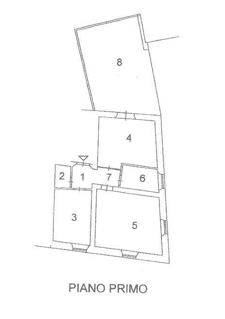 Planimetria 1/1 per rif. A 61