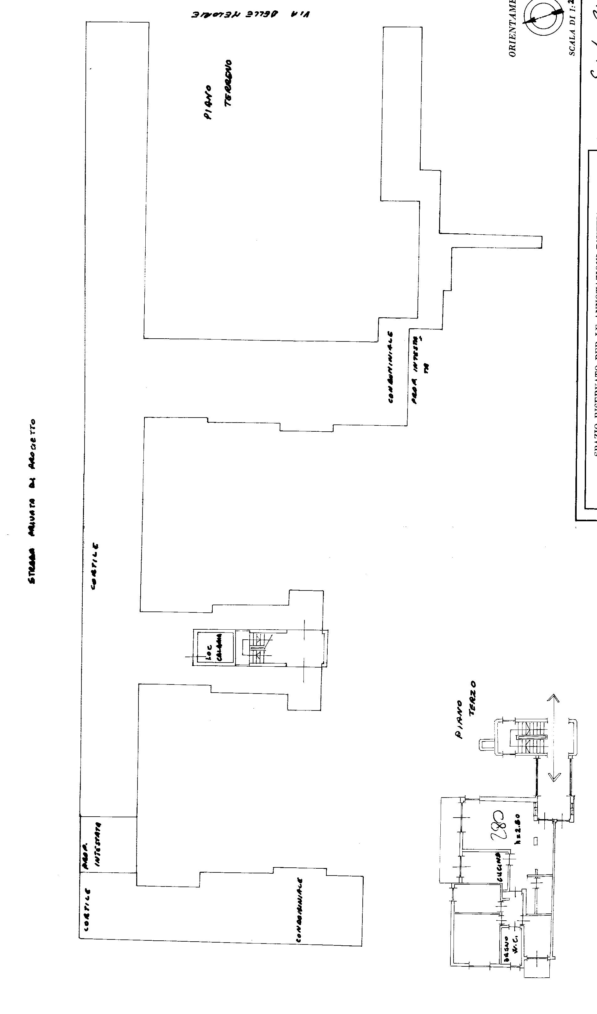 Planimetria 1/1 per rif. A 06
