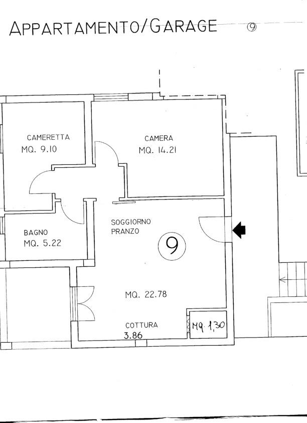 Planimetria 1/1 per rif. A42