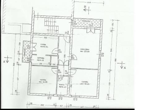 Planimetria 1/1 per rif. A 24
