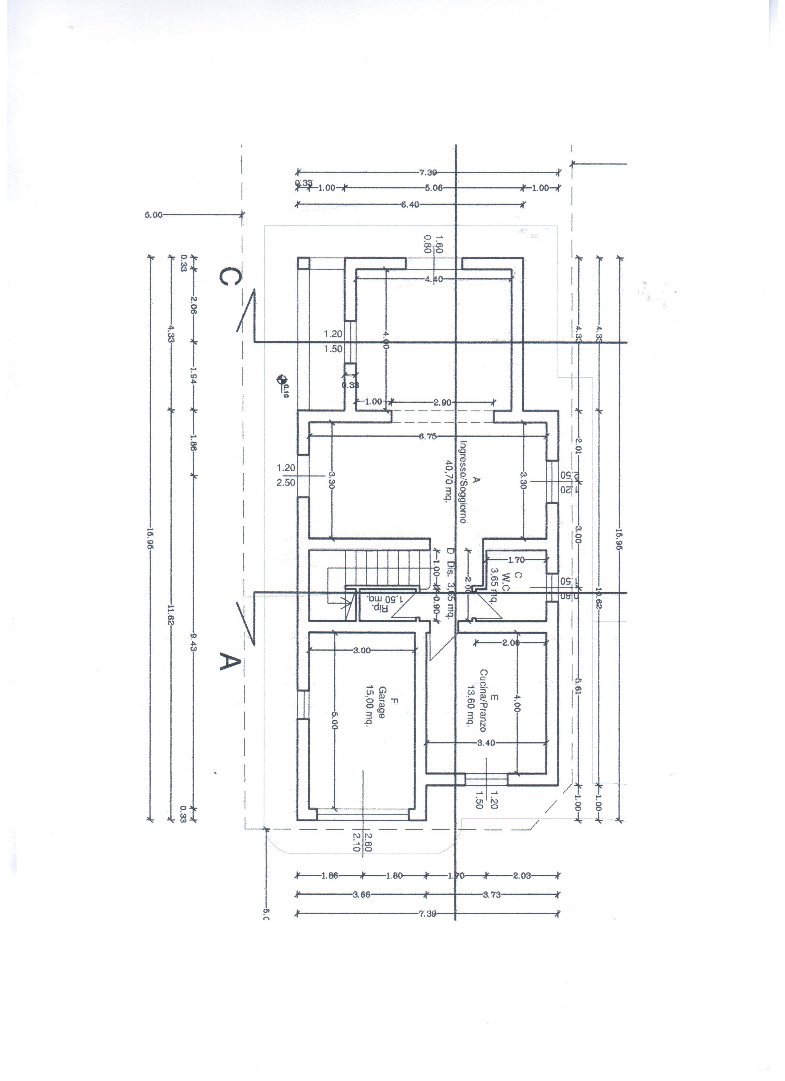Planimetria 2/2 per rif. A35