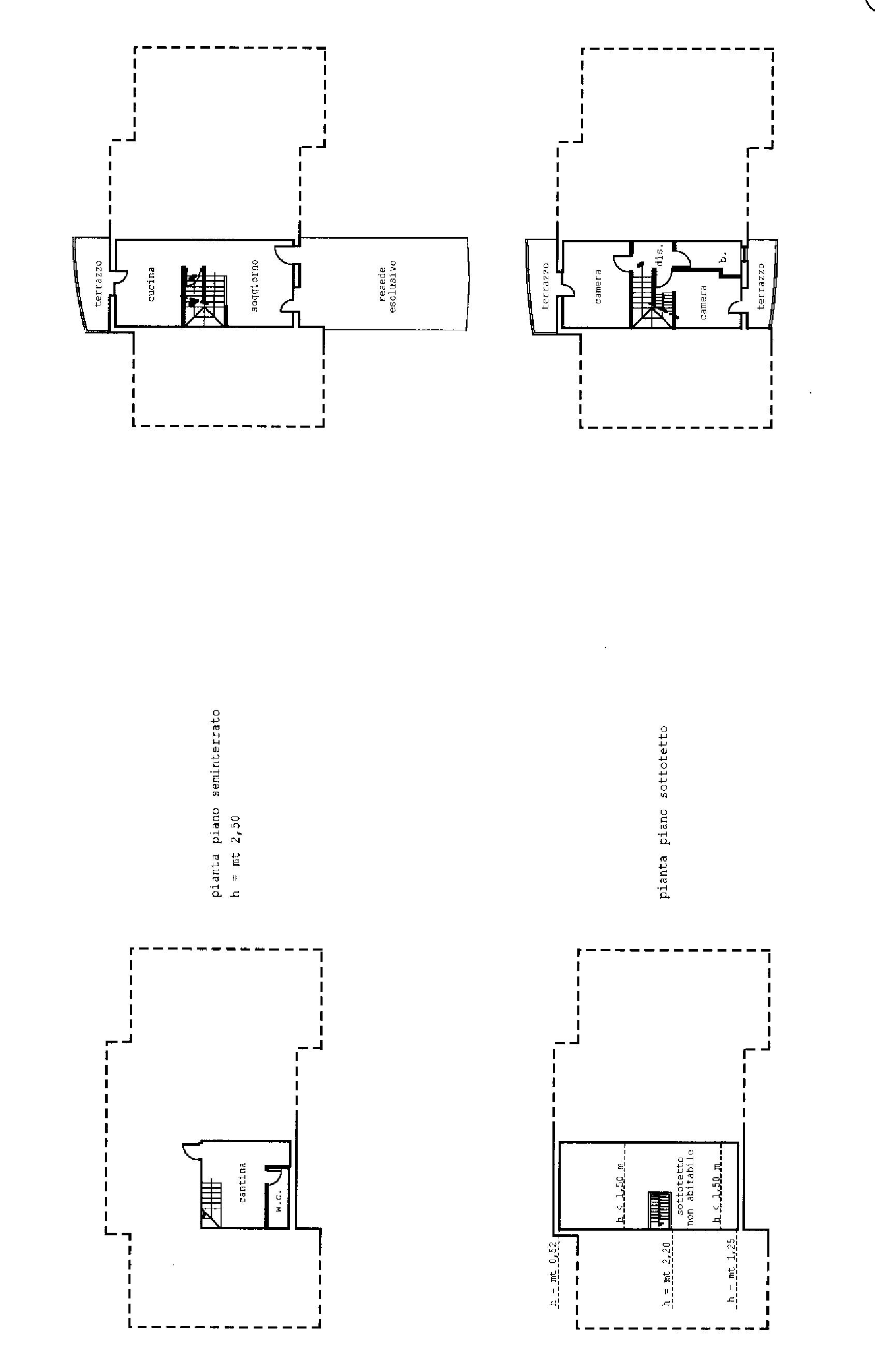 Planimetria 2/2 per rif. A 96