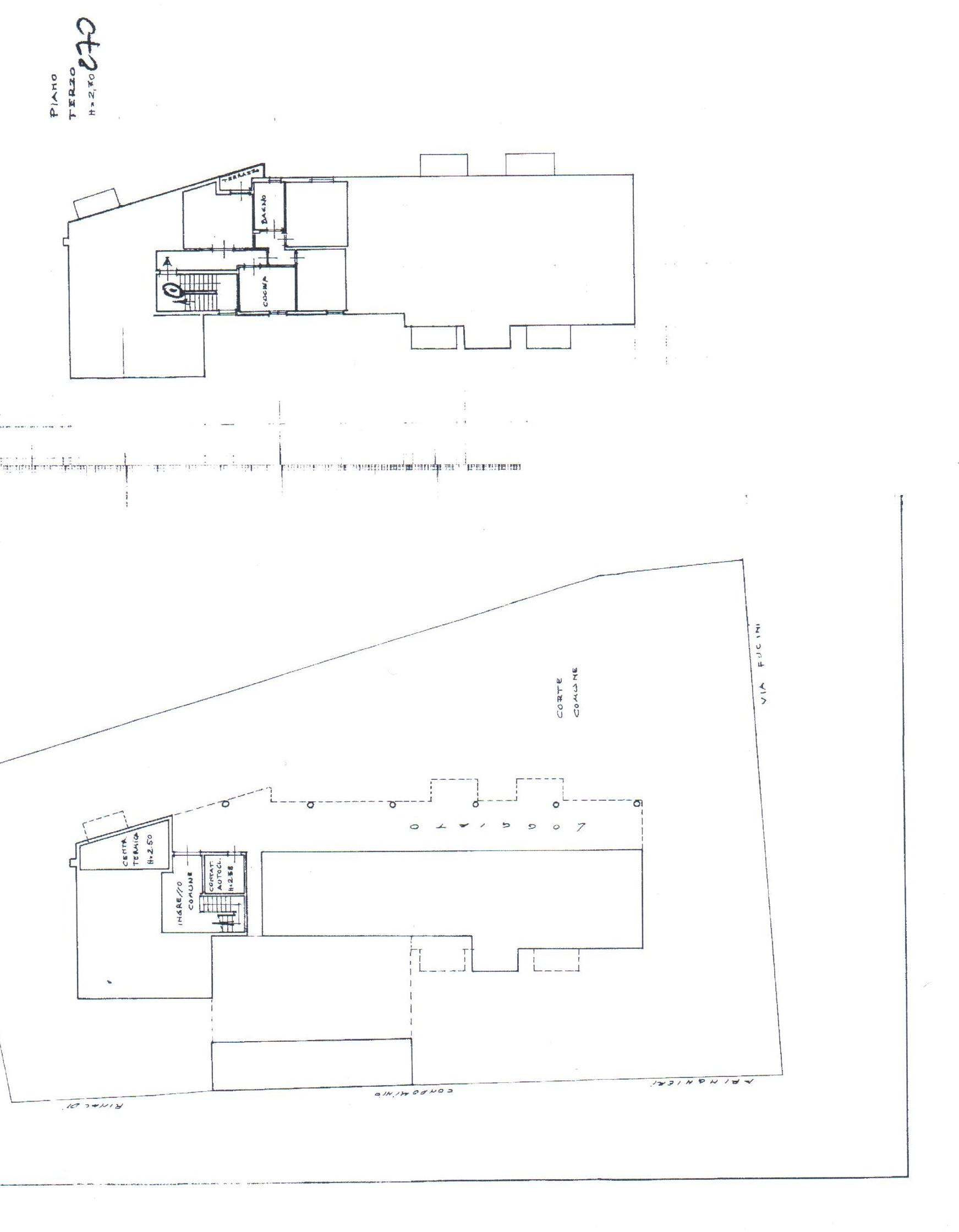 Planimetria 1/1 per rif. A 116