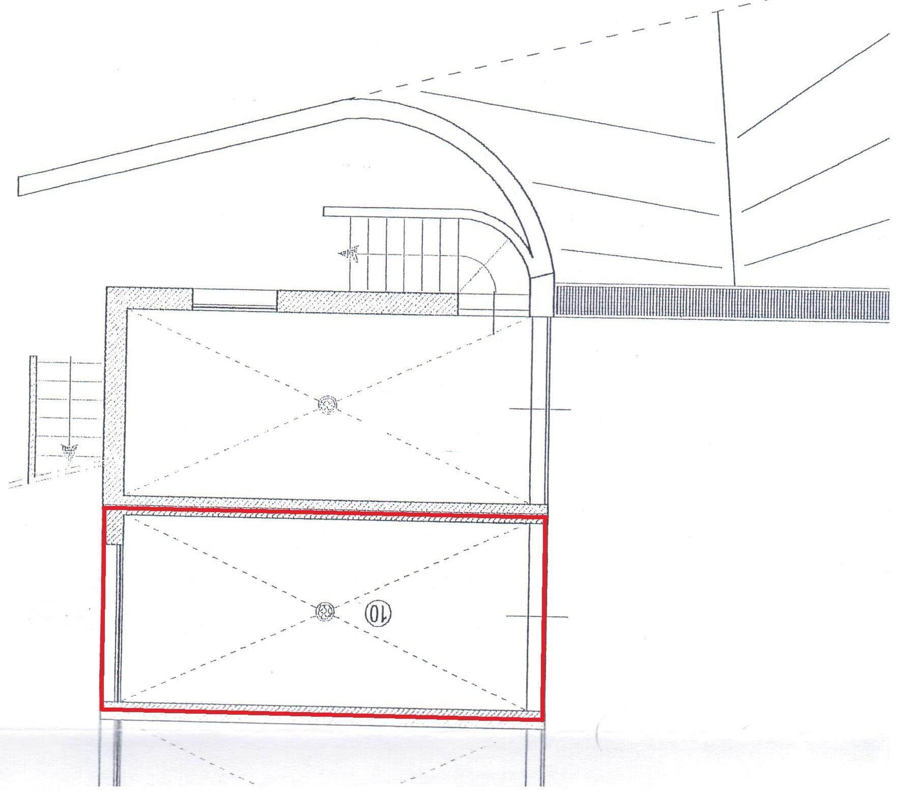 Planimetria 2/2 per rif. A108