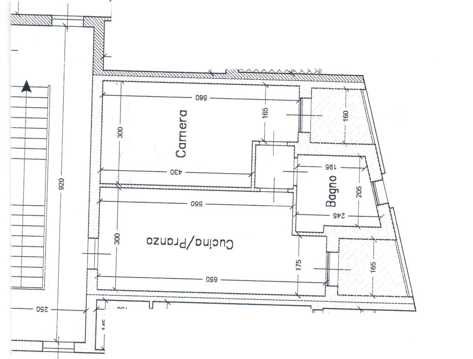 Planimetria 1/2 per rif. A108