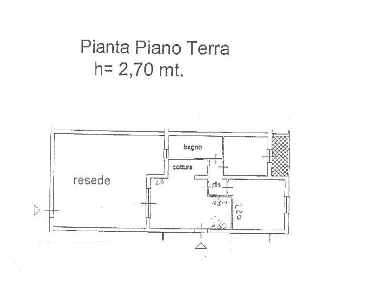 Planimetria 1/1 per rif. A 04