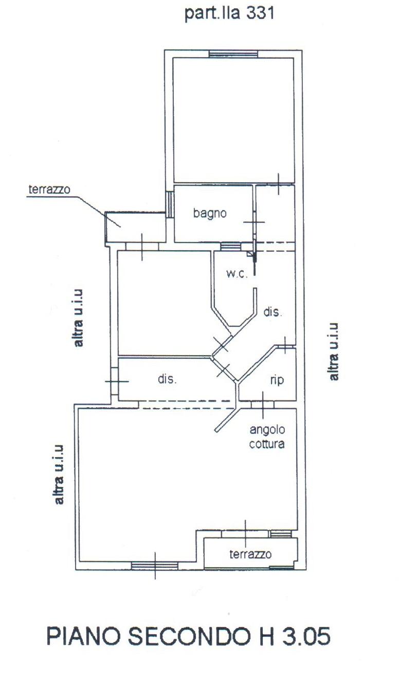 Planimetria 1/2 per rif. A22