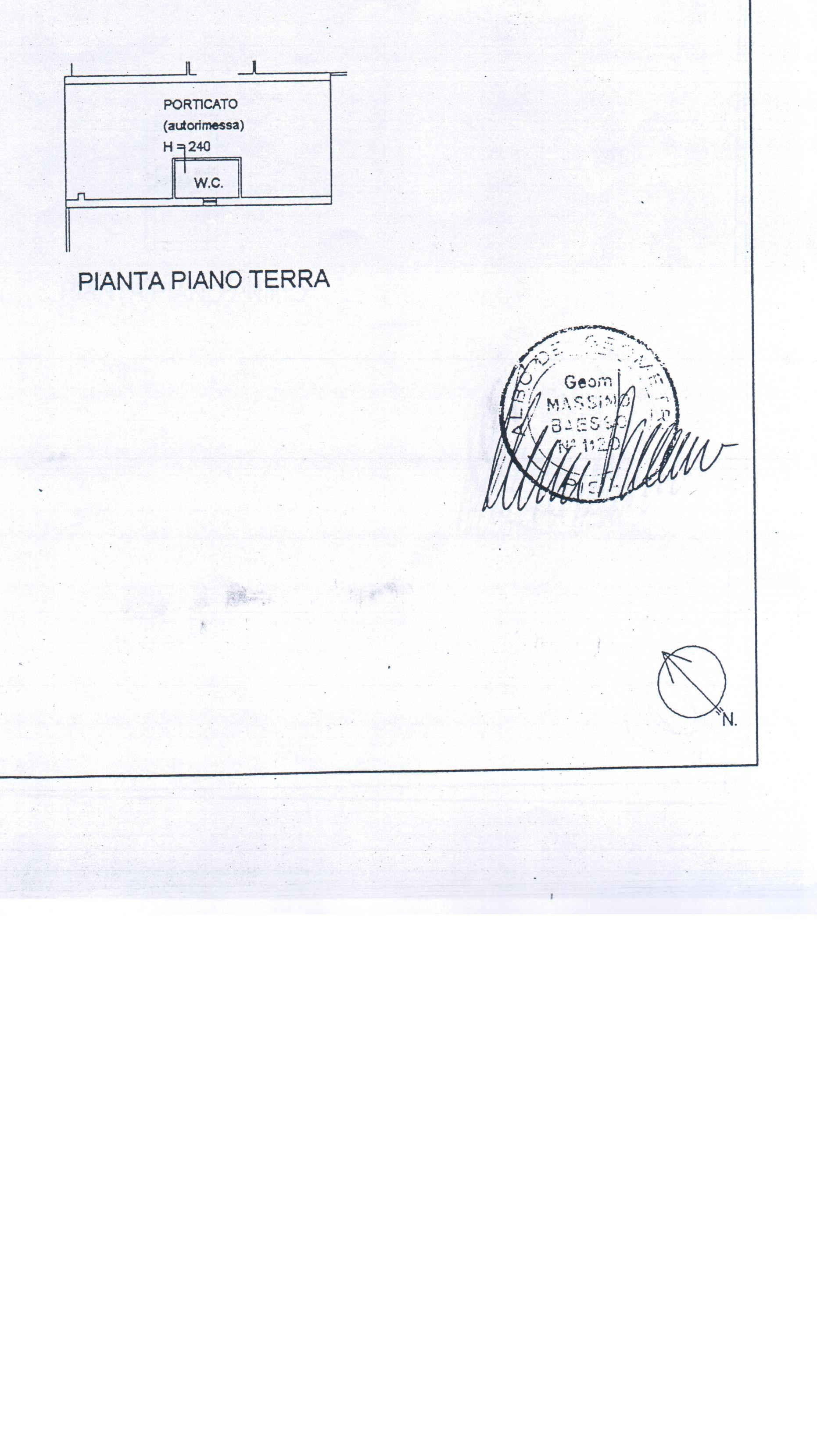 Planimetria 1/3 per rif. A 08