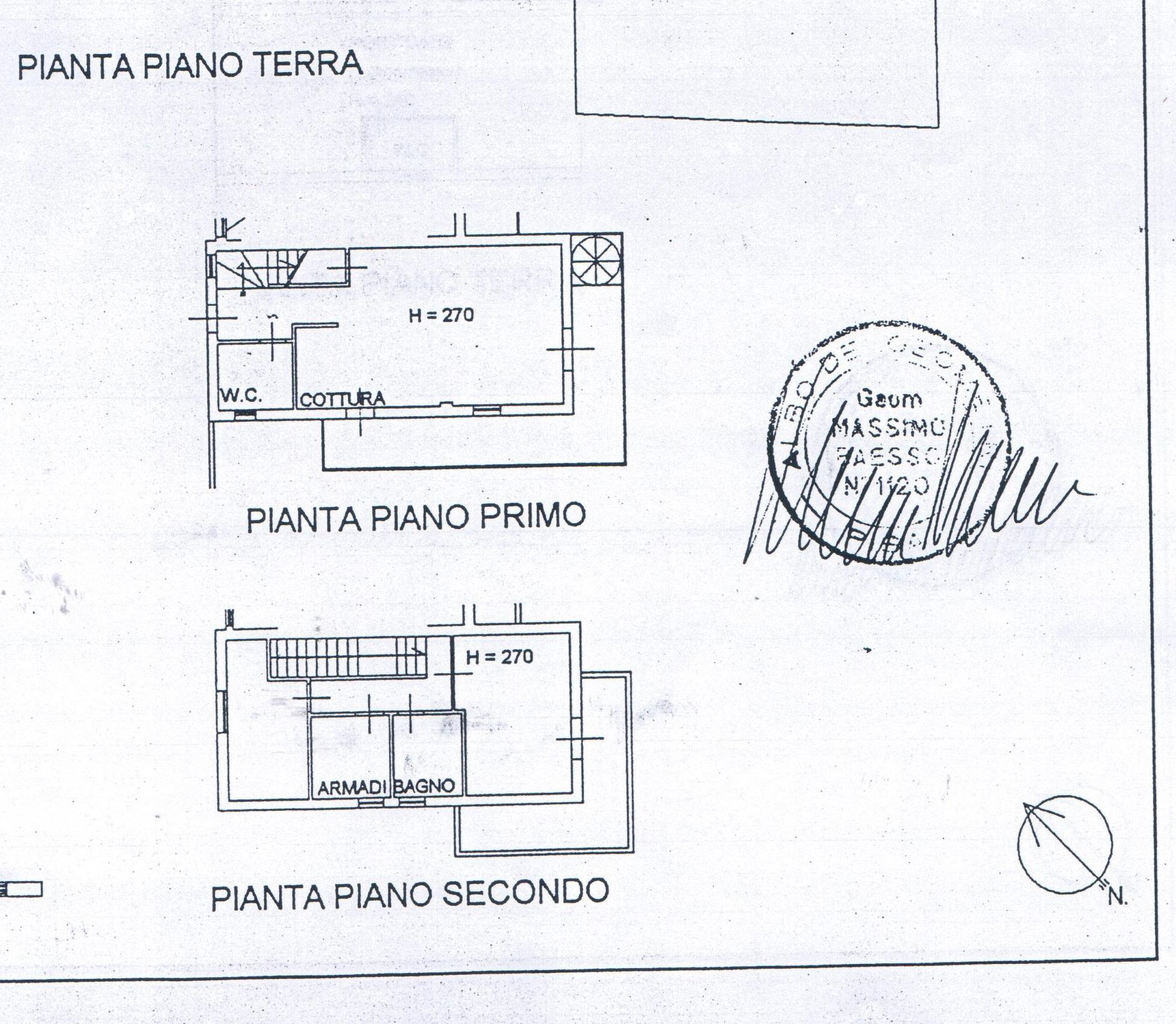 Planimetria 3/3 per rif. A 08