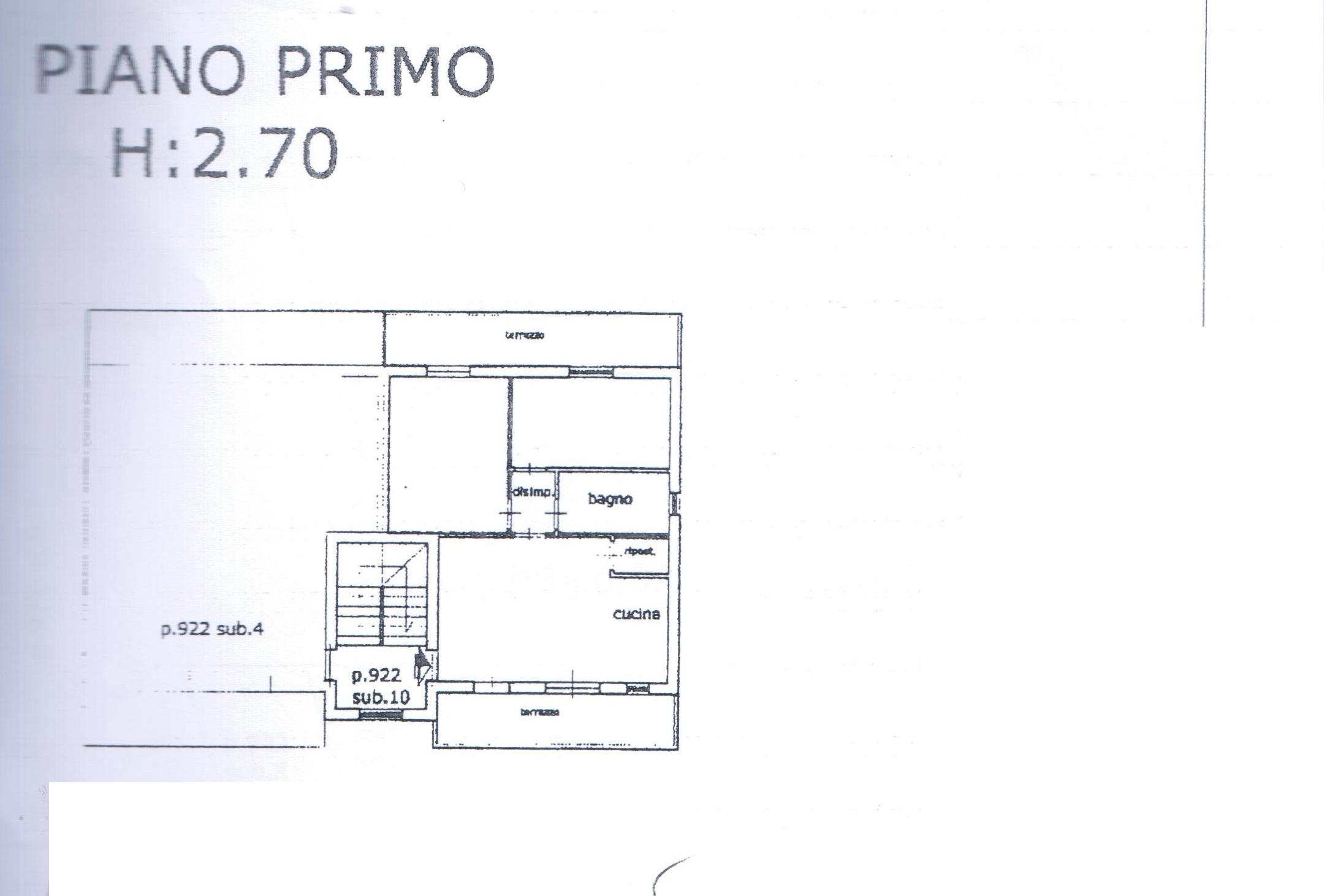 Planimetria 1/1 per rif. A33