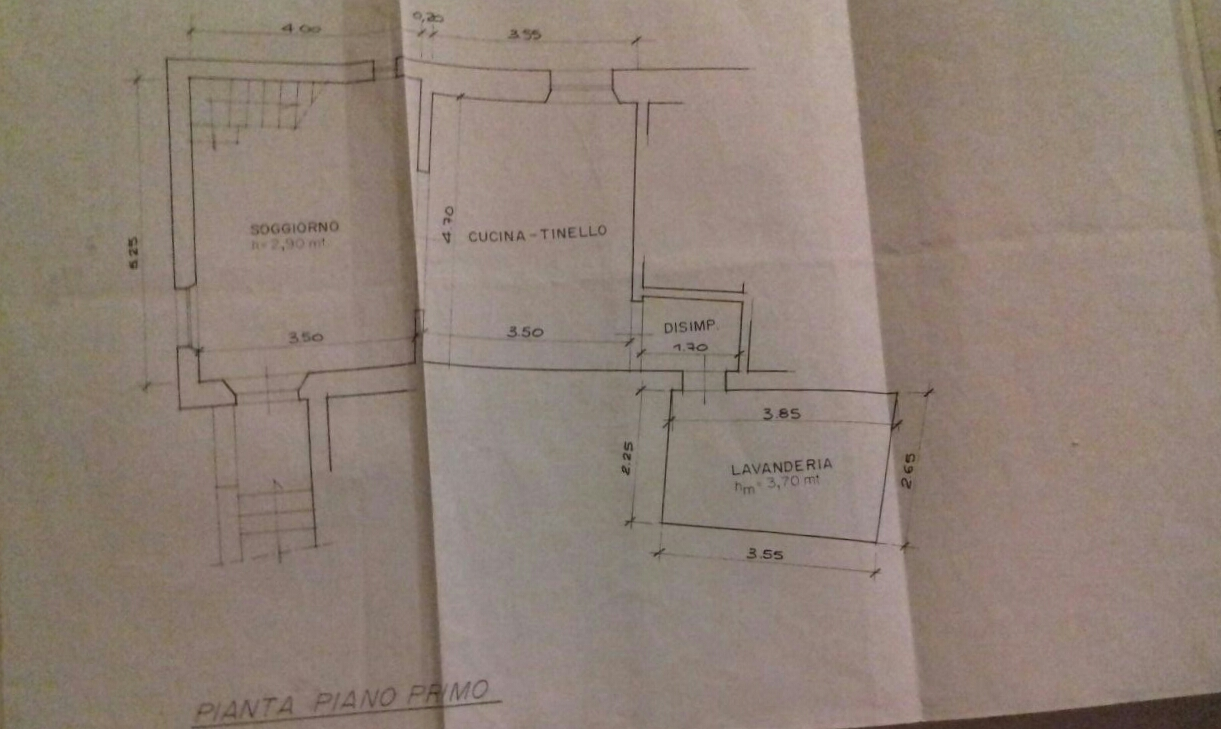 Planimetria 2/2 per rif. A125