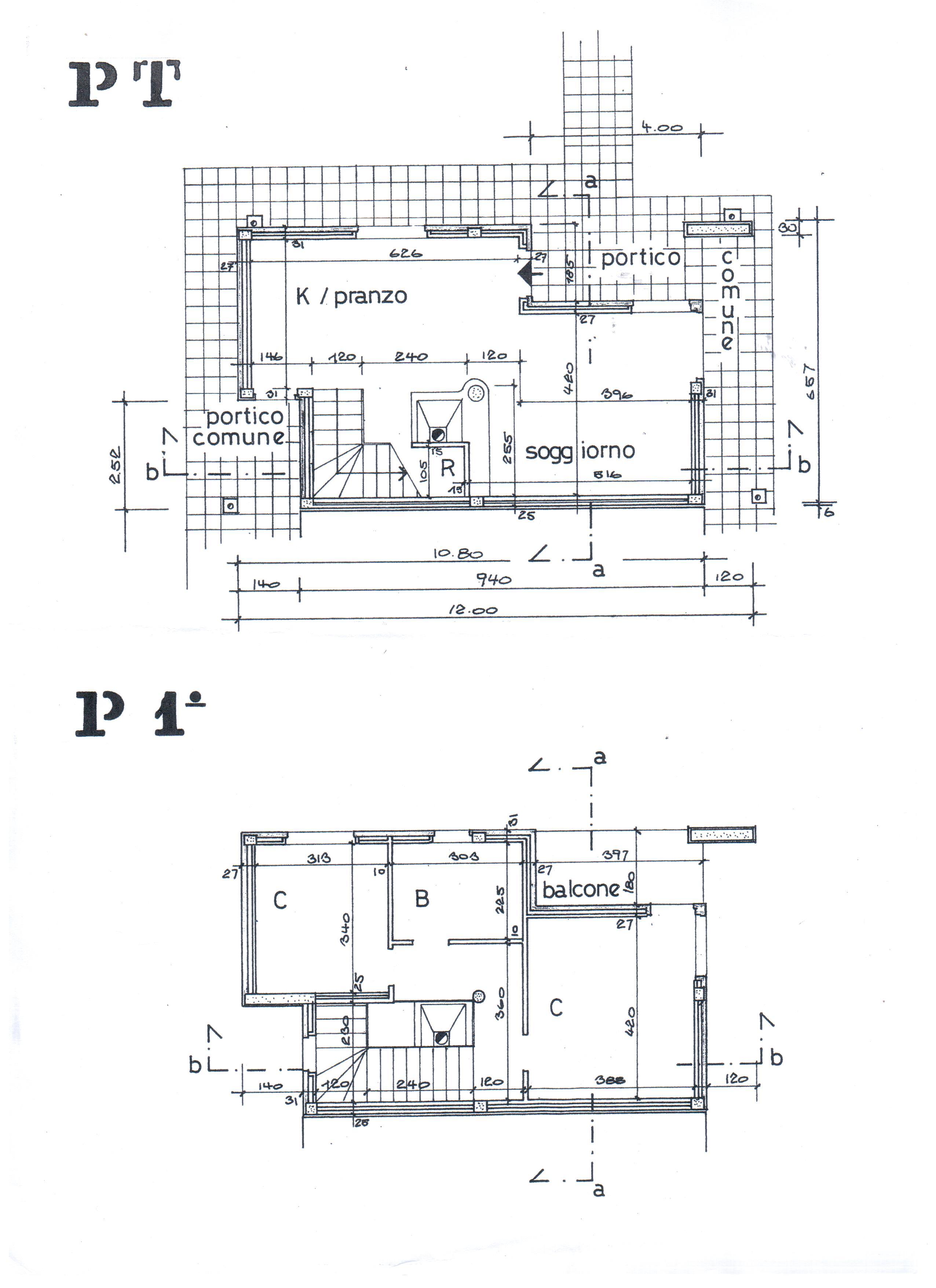 Planimetria 1/1 per rif. A 136