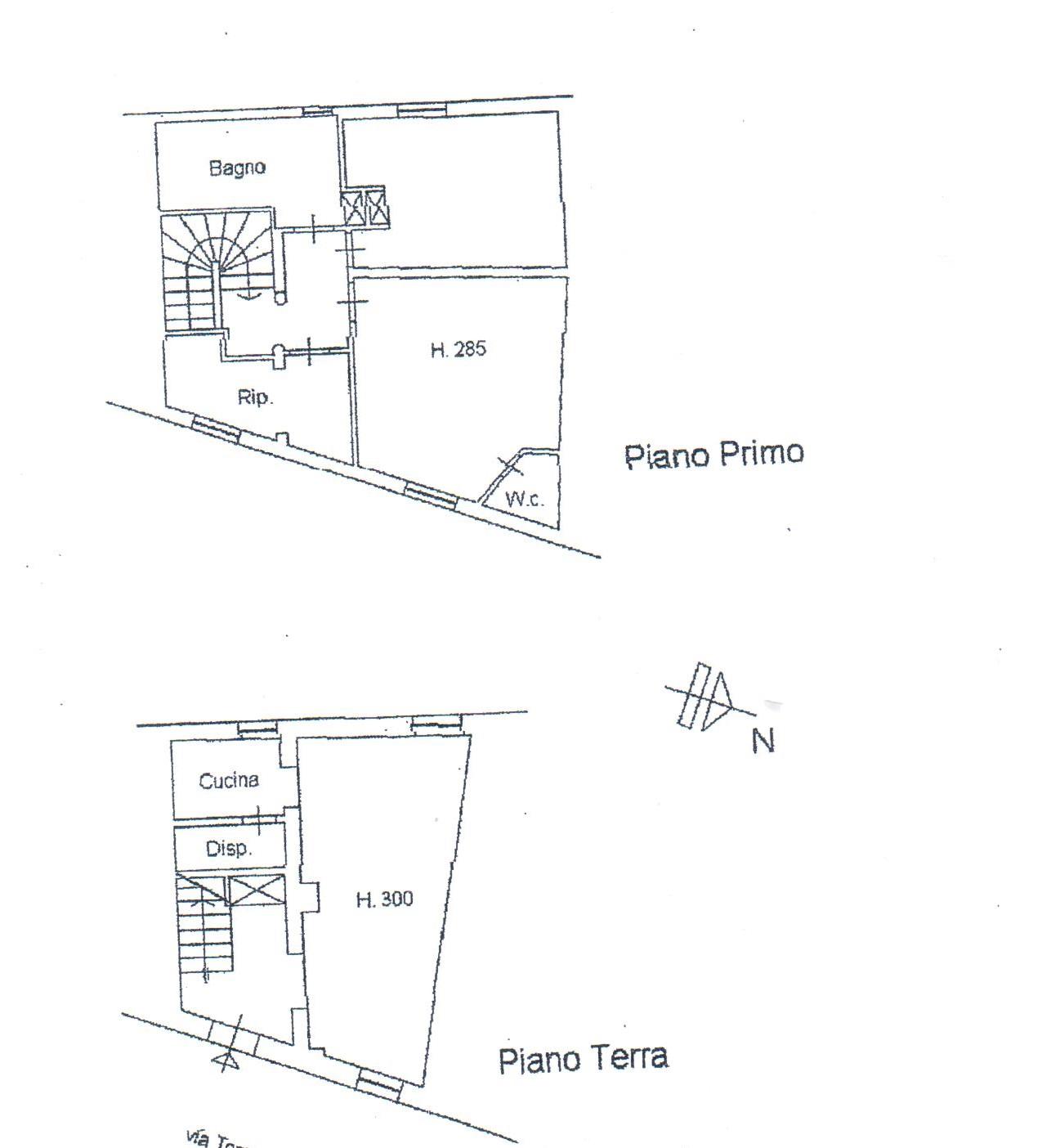 Planimetria 1/1 per rif. A137