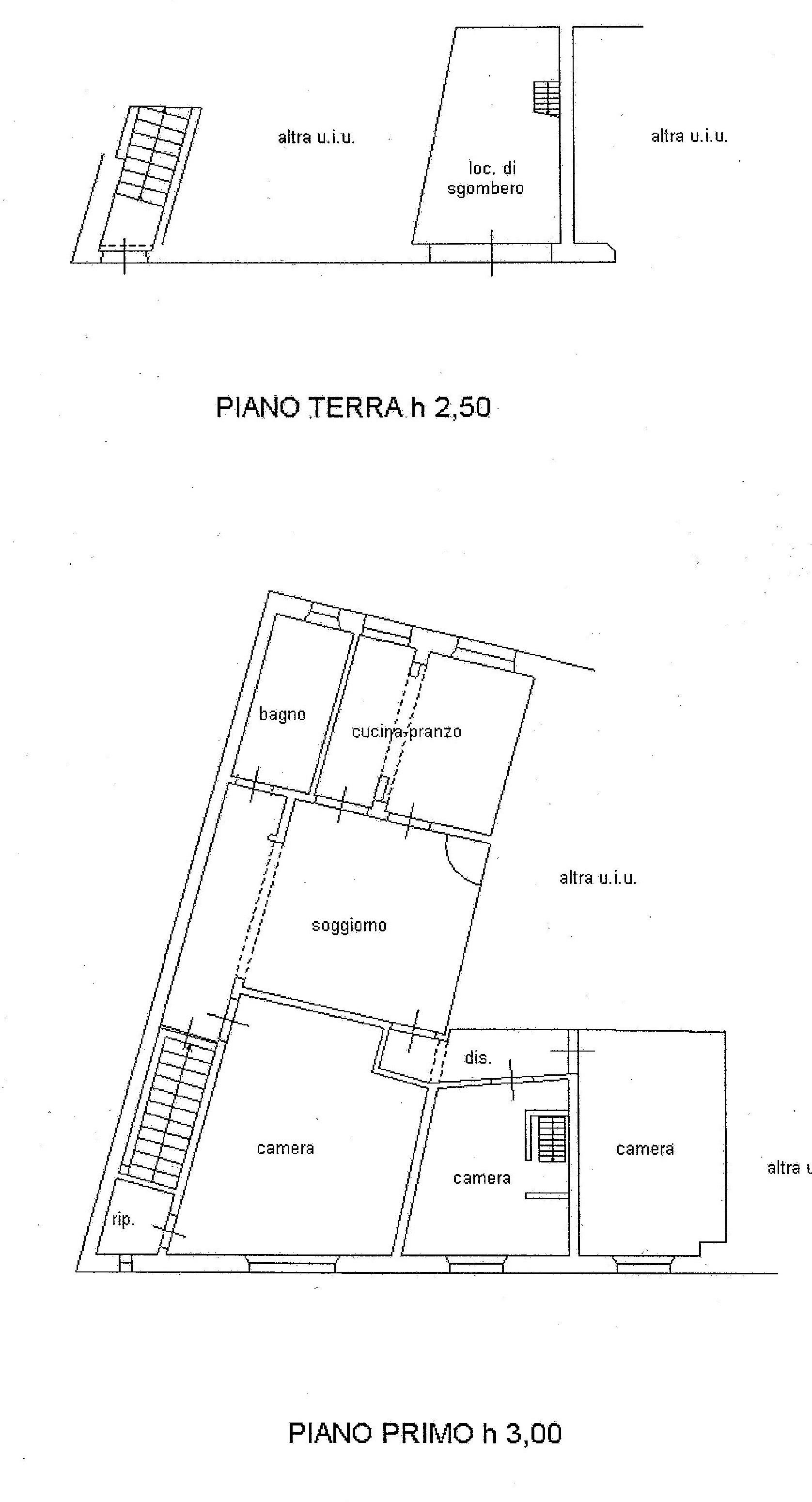 Planimetria 1/1 per rif. A17