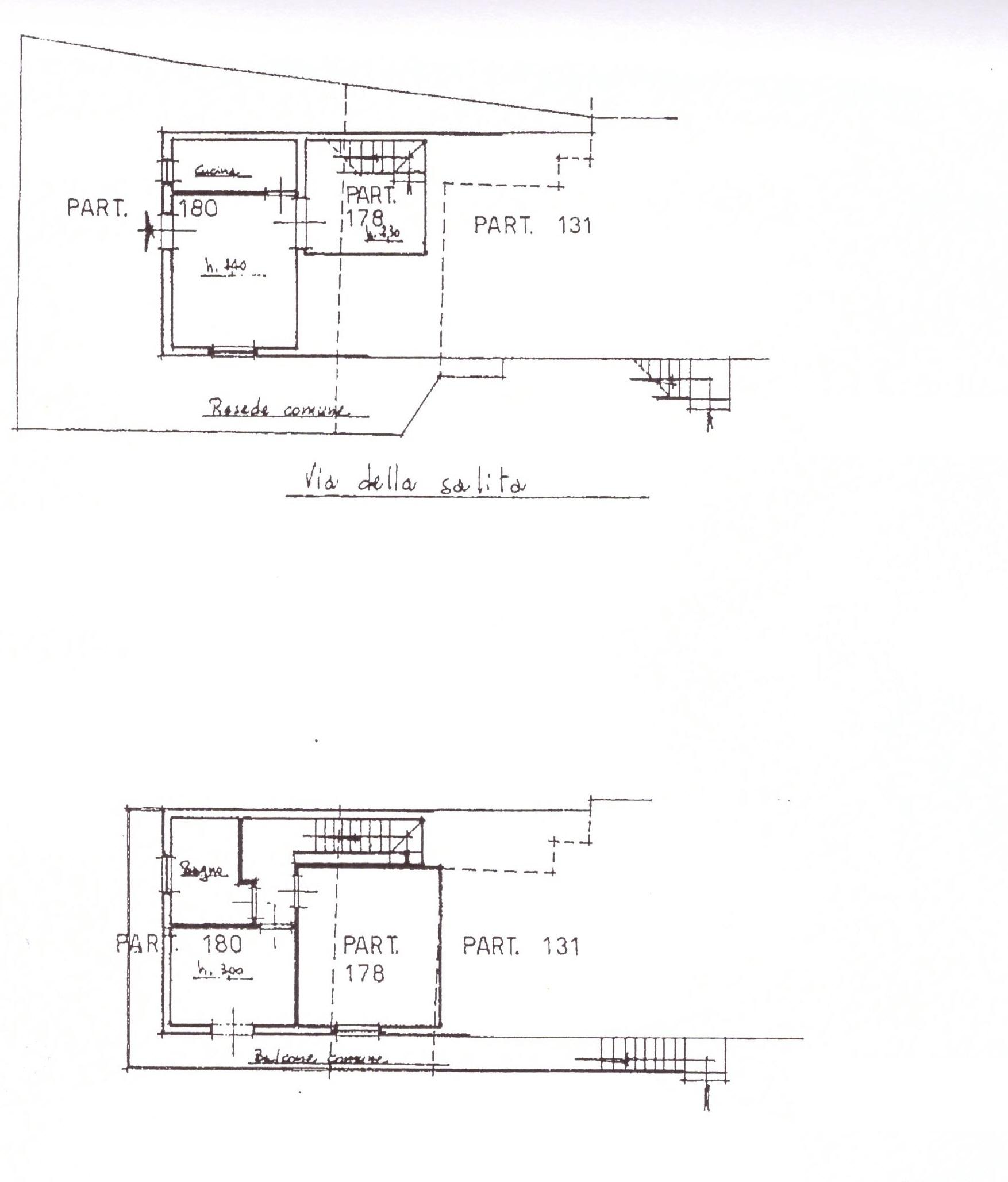 Planimetria 2/3 per rif. A98
