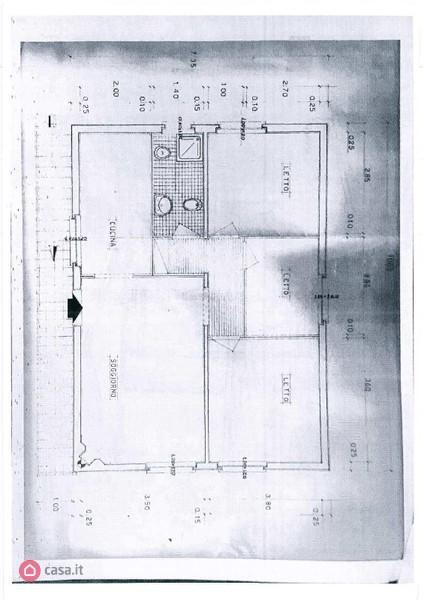 Planimetria 3/3 per rif. A37