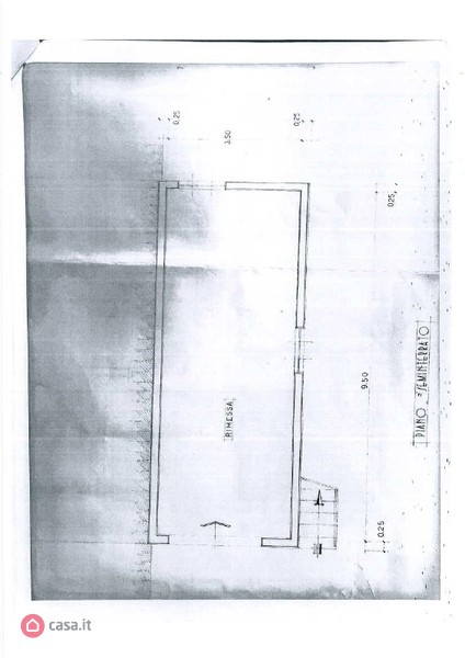 Planimetria 2/3 per rif. A37
