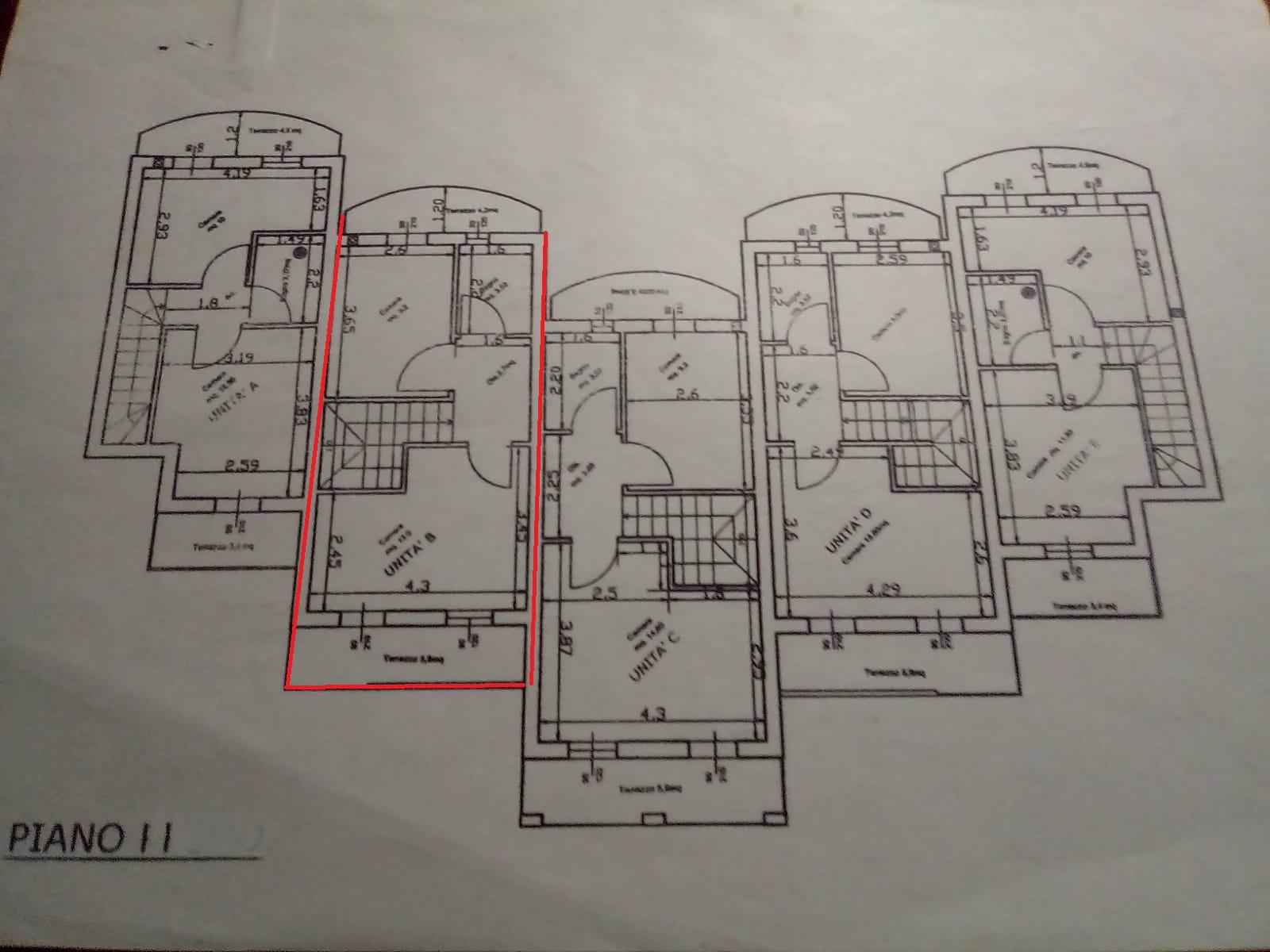 Planimetria 4/4 per rif. A09