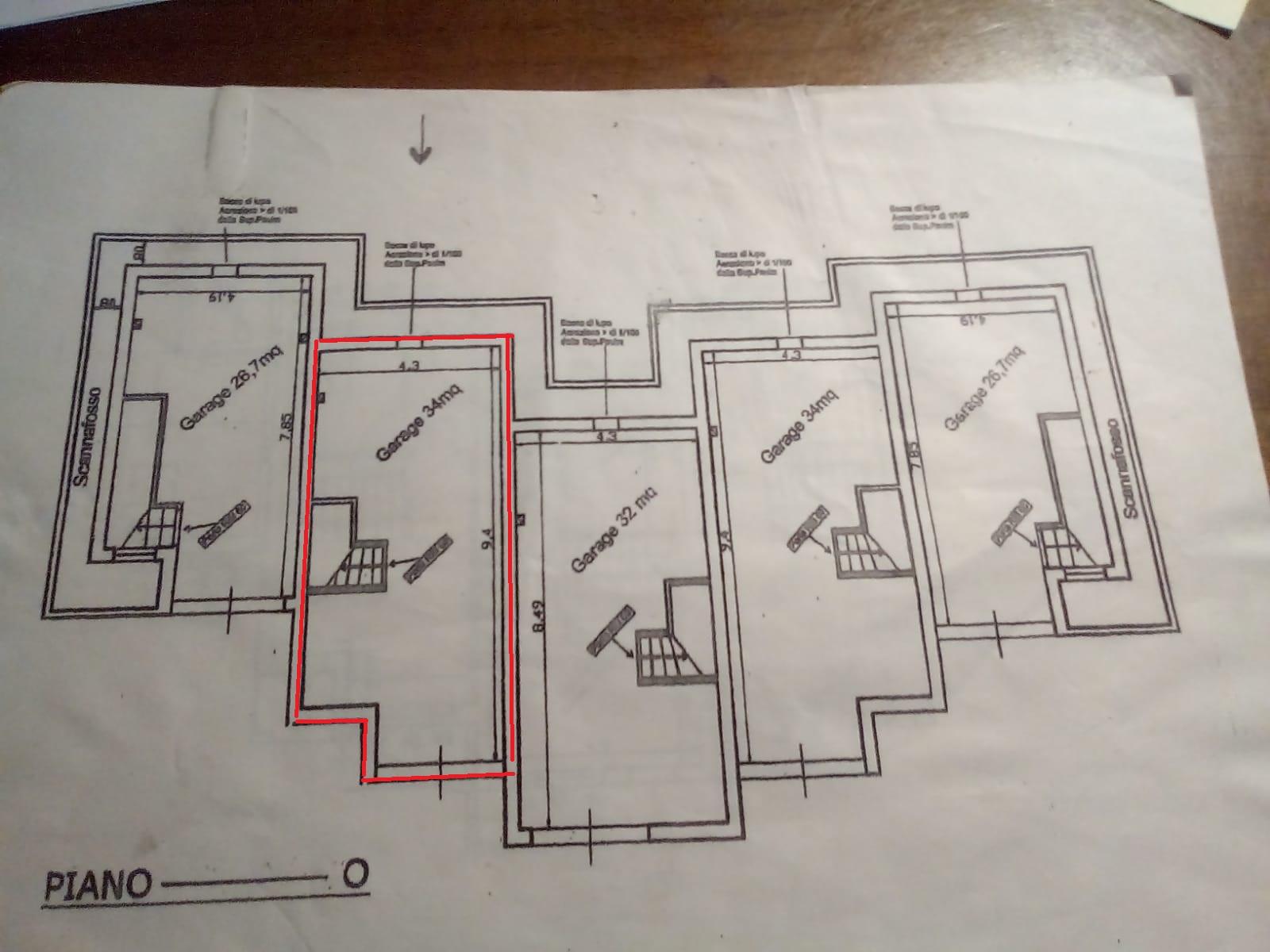 Planimetria 1/4 per rif. A09