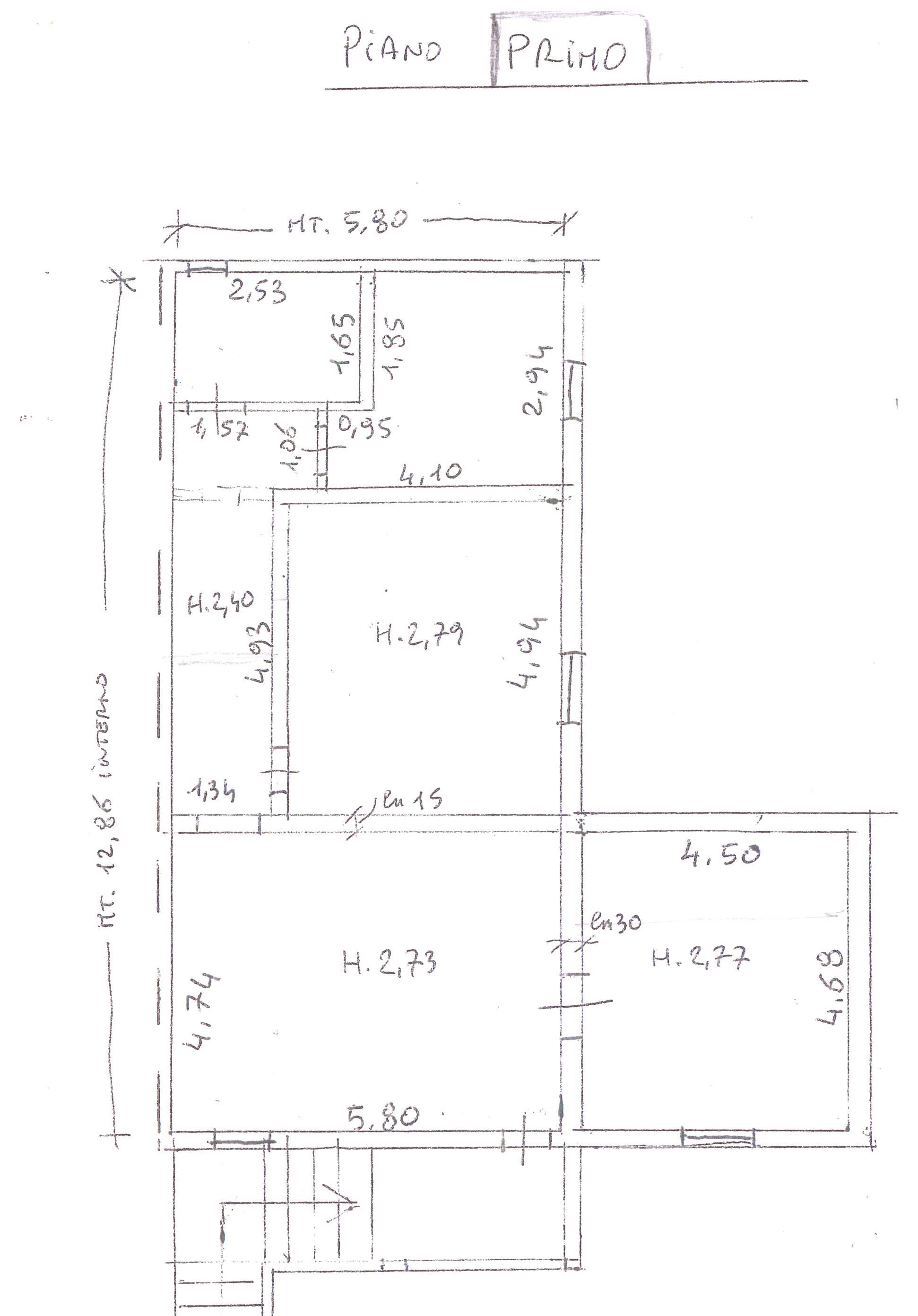 Planimetria 3/3 per rif. A65