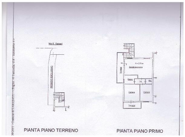 Planimetria 1/1 per rif. A58