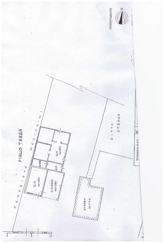 Planimetria 2/2 per rif. A03