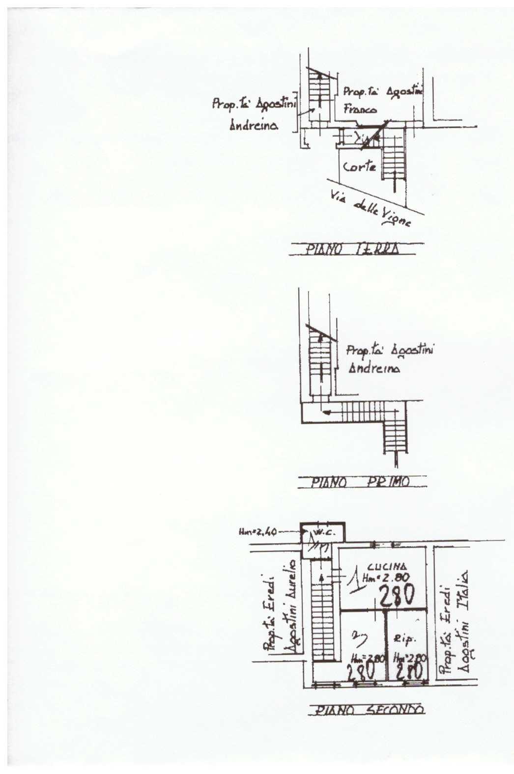 Planimetria 1/1 per rif. A131